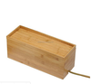 Bamboo wire storage box