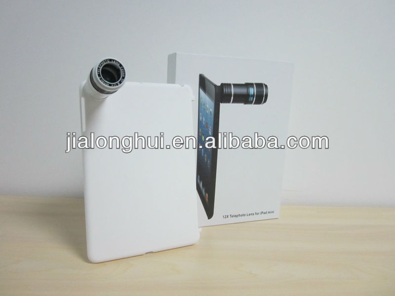 2013 NEW 12X Optical Zoom Telephoto Lens For iPad Mini with Case