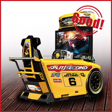 Coin operated games products Split Second driving simulator machine racing game kids coin operated game machine