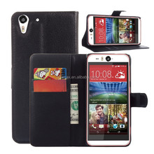 Flip PU Stand Leather Wallet case cover for HTC desire eye case
