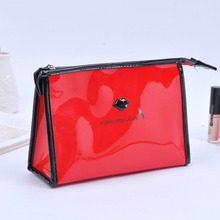 eco-friendly cheap wholesale clear pvc cosmetic bag