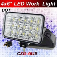 nice quality cheapest price IP68 approved full /dipped beam 45w Forklift light