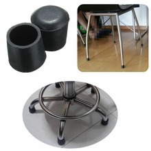 16mm, 19mm, 22mm, 25mm, 28mm, 31mm, 38mm Anti-Slip Household Office School Furniture Chair Table Stool Rubber Feet Cap