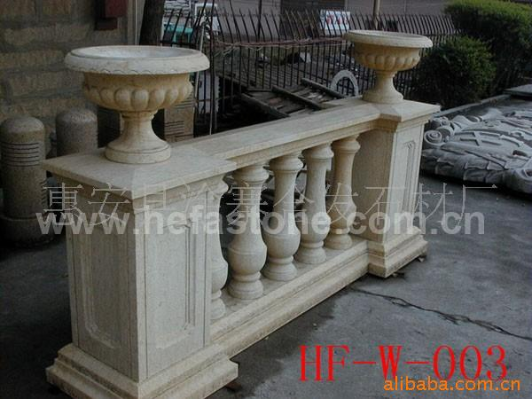 Best price new artifical hand made terrace balustrade for sale