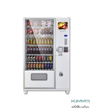 automatic large glass snack/drink vending machine