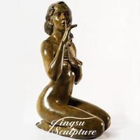 Brand new bronze nude body art statue