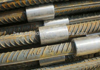 steel bar/rebar/carbon steel connecting sleeve, straight screw sleeve coupler connection/joint