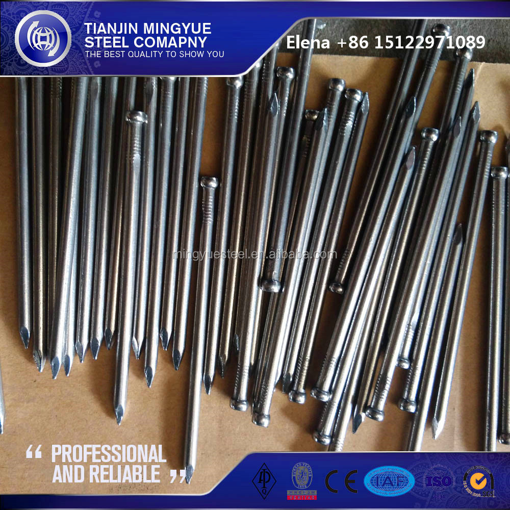 BS standard 1/2-8 inches joint head nails for Australia market