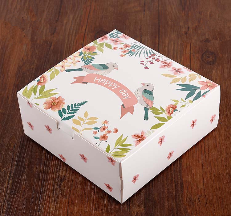 Food grade paper cupcake box with cheap price