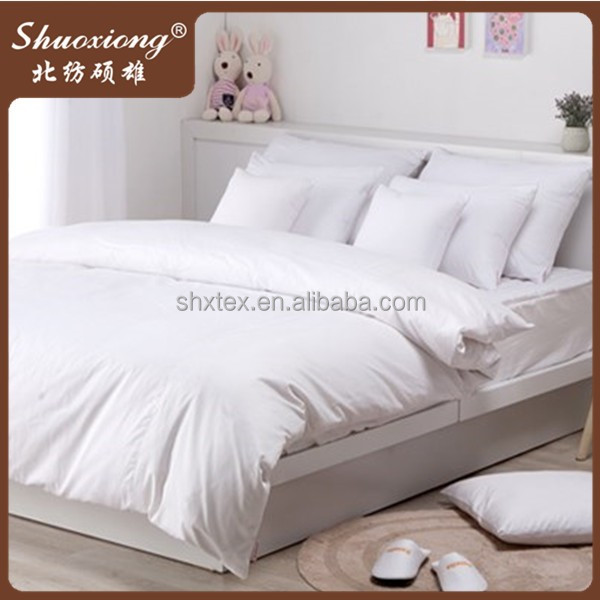 high quality 100% organic cotton fabric for bed sheets