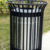 2017 hot style Stainless Steel outdoor and household used mini trash can