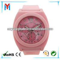 promotional silicone three dial name brand wholesale watches