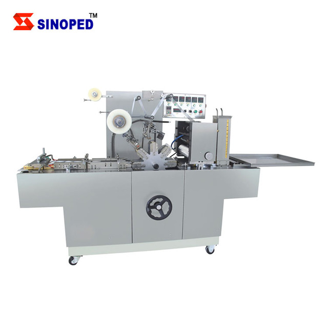 Automatic Cigarette cling film wrapping machine / Cellophane Wrapping Machine