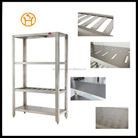 OEM custom stainless steel goods shelf / restaurant kitchen stainless steel shelves