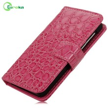 2014 New design book style genuine leather phone case for Blackberry Z10