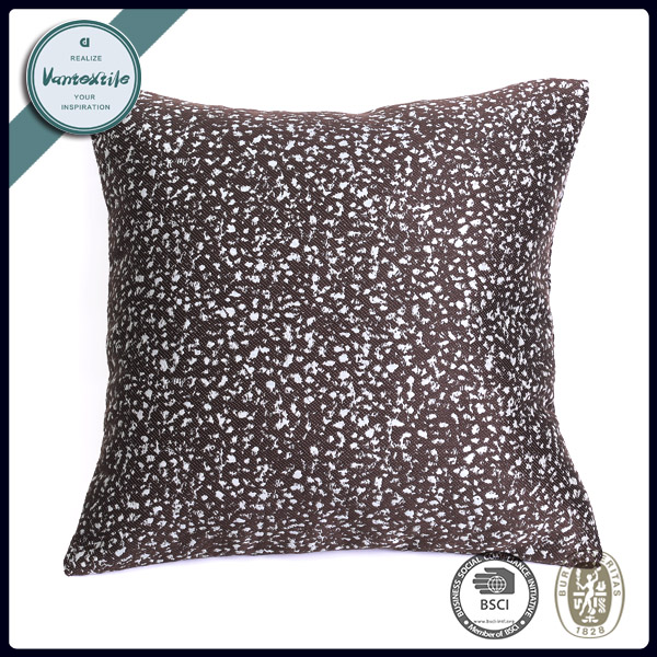 Fashion Snowflake Point Pattern Empty Cushion Cover For Hugging 45*45cm