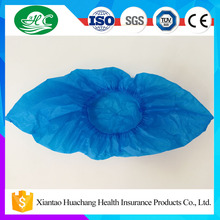Machine Made Colorful Disposable CPE PE PP Plastic Shoe Cover