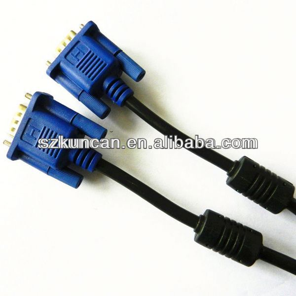 15m vga cable high quality for Multimedia and Projector /Computer