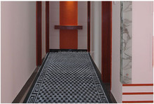 luxury pvc backing hotel carpet modern design runner corridor carpet