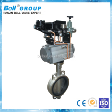 4 Inch Wafer Pneumatic Butterfly Valve