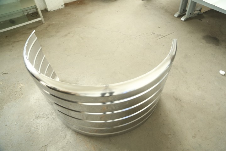China made Stainless steel mudguard / truck mud quarter fenders 112008