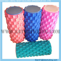 textured curved foam paint yoga roller