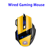 X7 USB Wired Game Vertical Ergonomic Gaming Computer Mouse