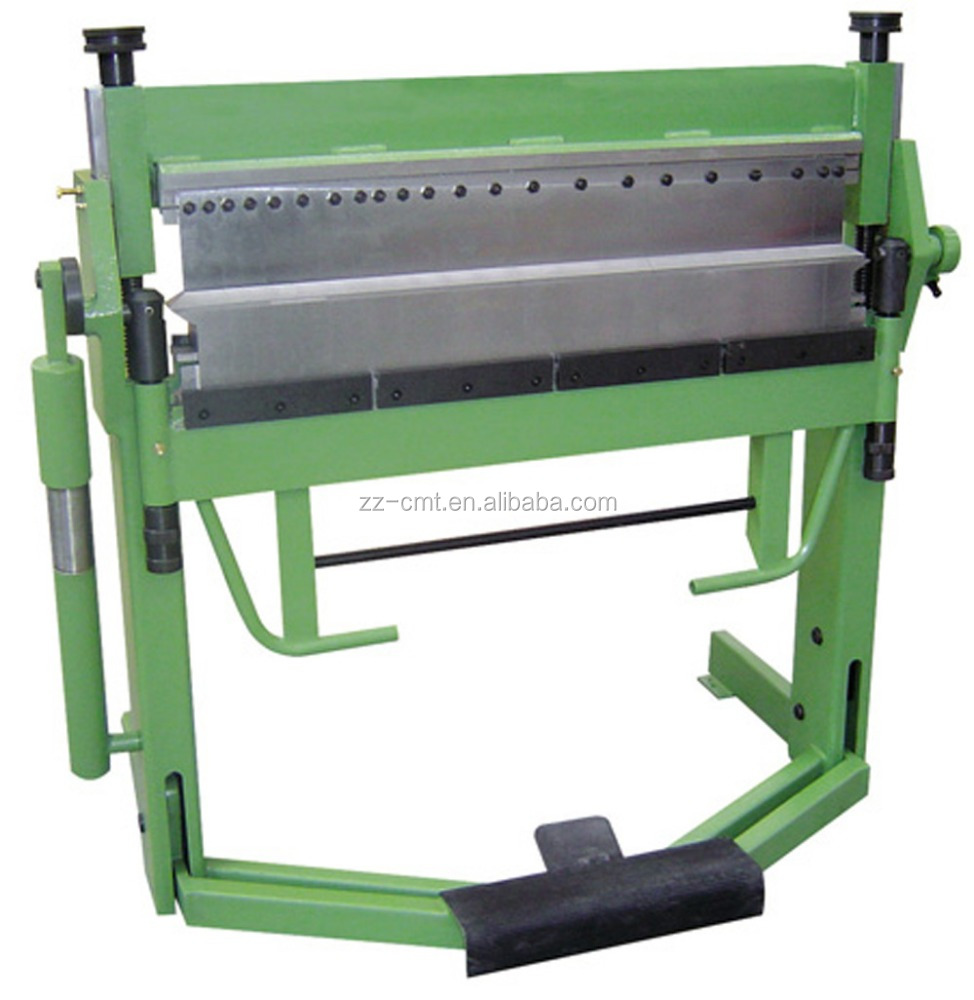 PBB1020X3SH manual plate box and pan bending machine