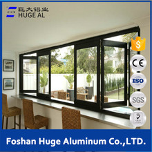 North America style aluminium doors and windows designs/aluminum folding window