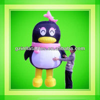 2015 penguin model inflatable moving cartoon