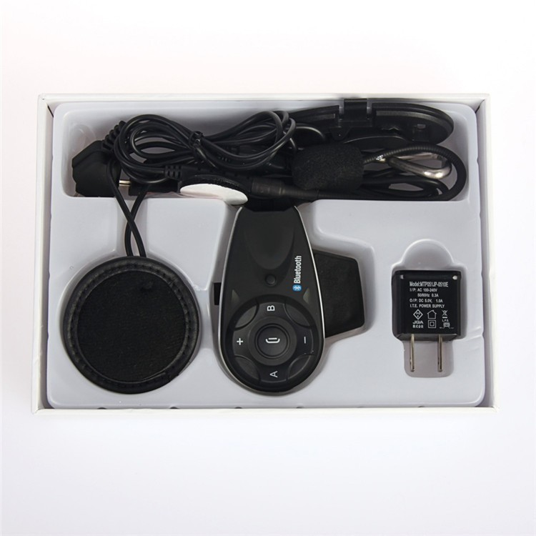 Vnetphone V5 full duplex motorcycle wireless communication