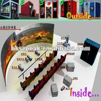 newest hot 3d 4d 5d 6d cinema theater movie system suppliers