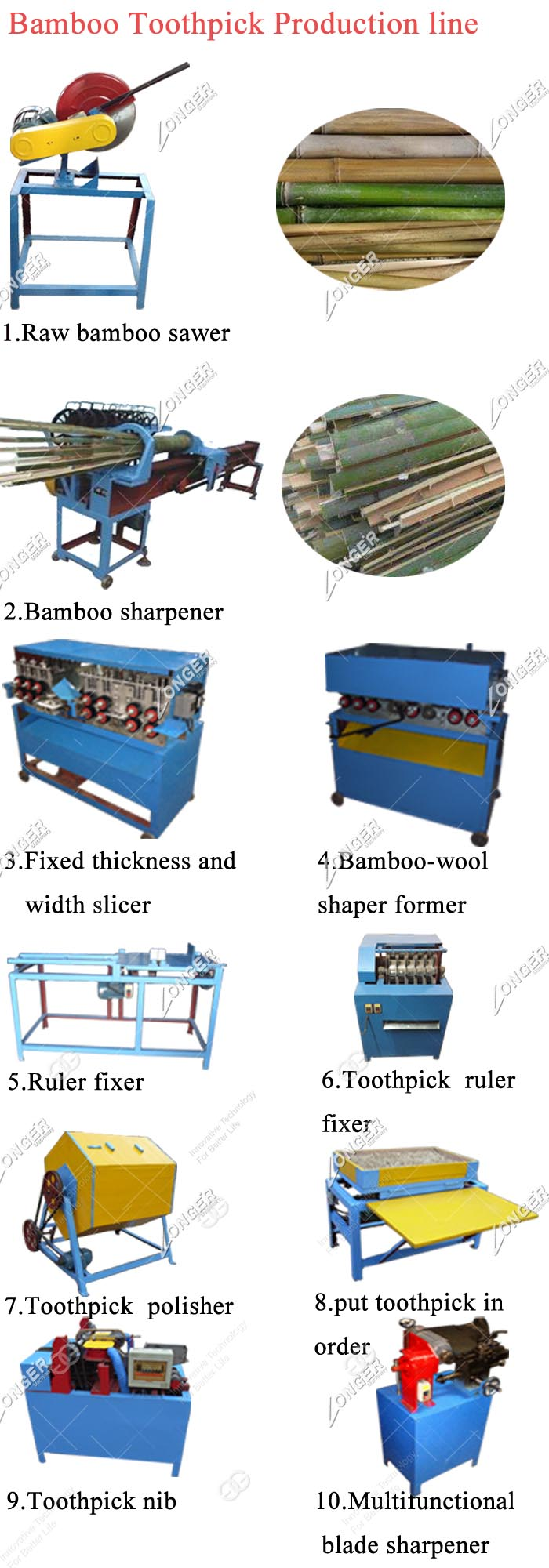 Small Scale Good Performance Incense Bbq Stick Maker Machine Making Equipment Bamboo Toothpick Production Machinery