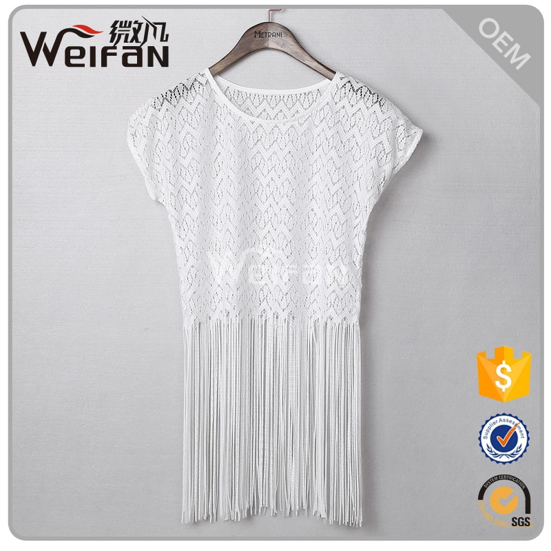 OEM Service Supply Type and Women Gender Fancy Beaded Tops Women Blouse & Tops