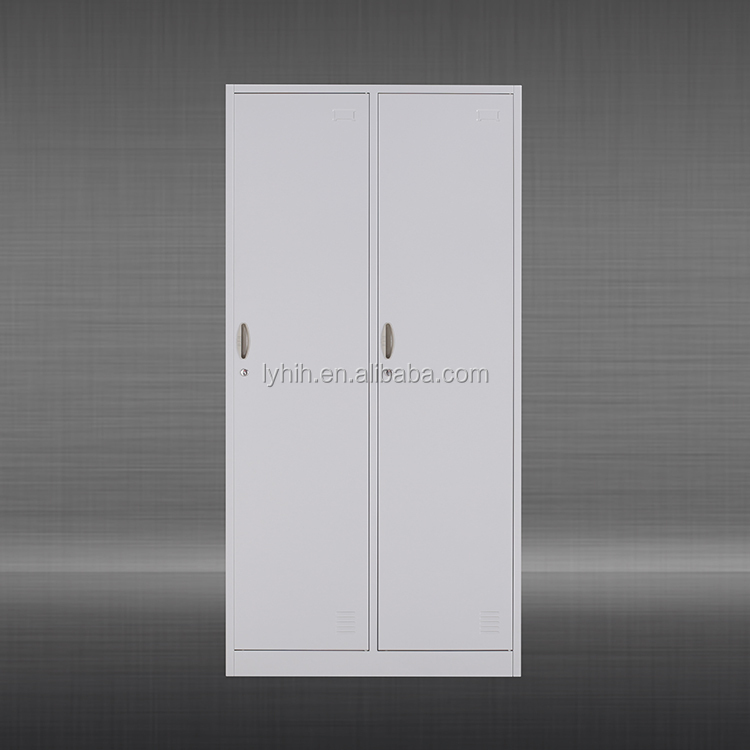 heavy duty stainless steel metal wardrobe locker small mini metal clothes locker cabinet