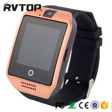 Q18 Smart Watch With SIM Touch screen MTK6261A chipset NFC BLE 3.0 Nofications for Android Smart Phones