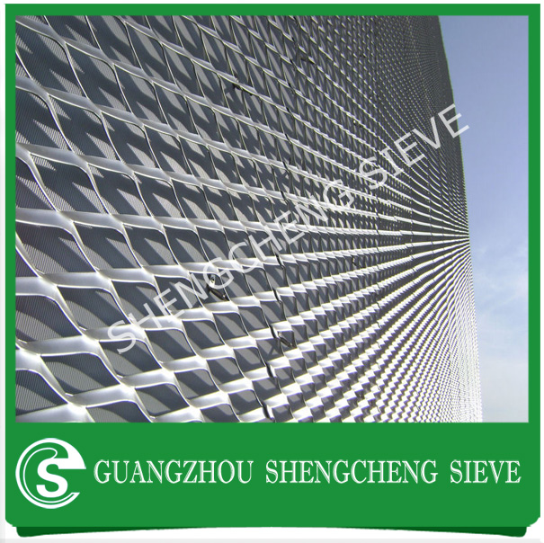 Factory Customize aluminium expanded mesh for architecture decoration