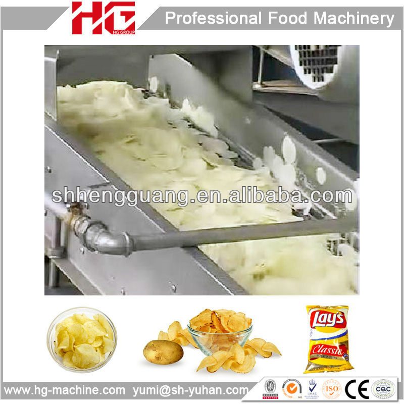 High capacity Natural Potato Crisp making machine