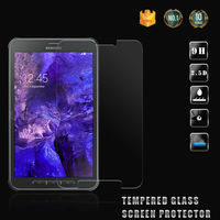 Anti scratch 9H 2.5D tempered glass screen protector for Samsung galaxy Tab Active 2 screen protector