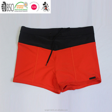 Boxer Swimsuit swimwear Trunks swimming wear short handsome snappy crimson for men and boy, swimwear, underwear