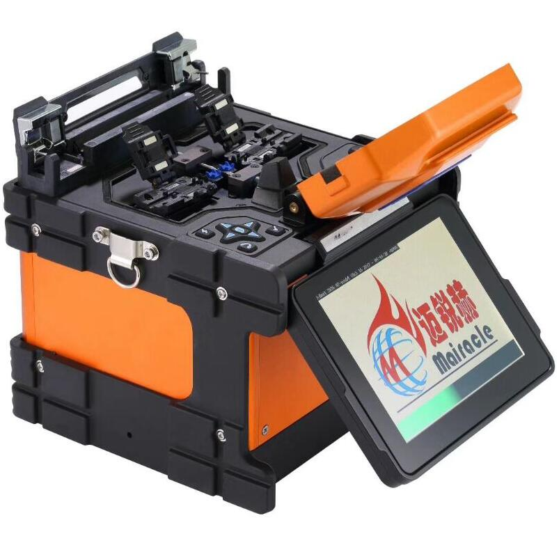 4 Motor Optical Fiber Fusion Splicer Machine /Fiber Splicing Machine for FTTH <strong>Network</strong>/fusion splicer moto