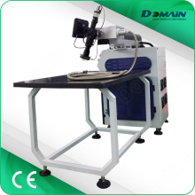 laser welding machine with worktop back screw rod trimming device table