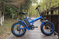 fat tire foldable 48V 500W electric motorcycle