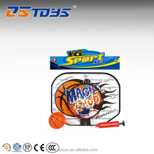 Factory Price shantou kids basketball set with inflatable ball