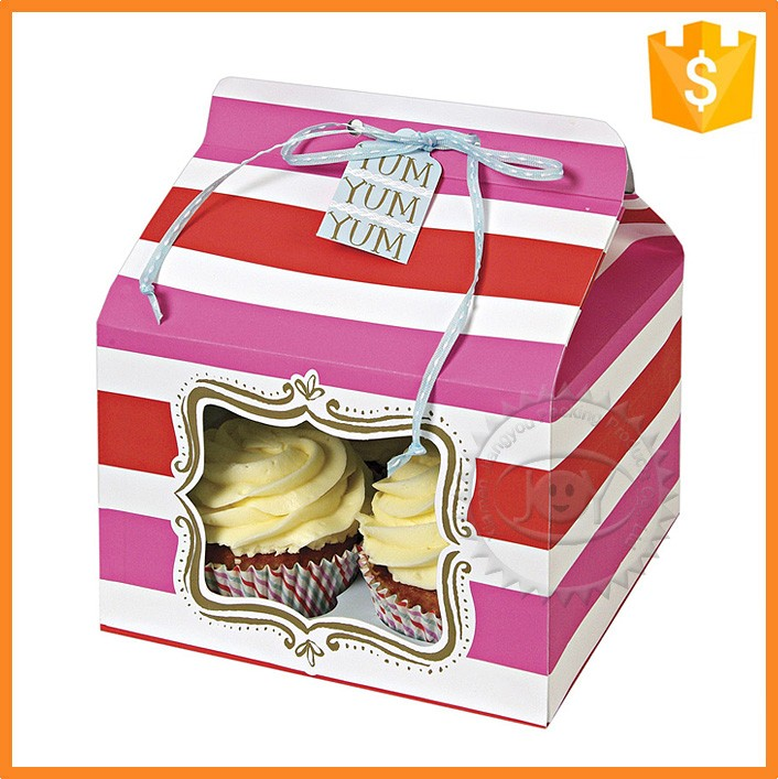 Food Industrial Use design custom small paper cupcake box