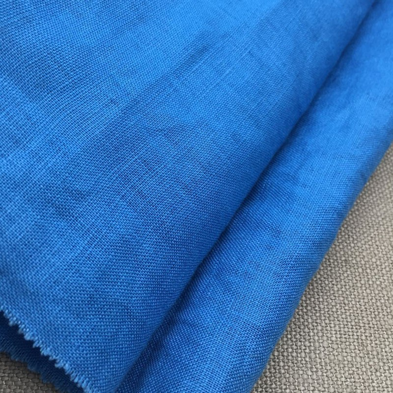100% linen fabric for pants