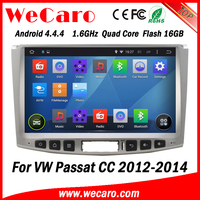 Wecaro WC-WU1011 Android 4.4.4 car dvd player HD for vw passat cc navigation system 2012 2013 2014 USB SD
