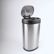 Household Stainless Steel Intelligent Touchless Wall Mounted Recycle Bin