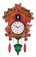 Cuckoo animal sounds clock cuckoo Bird Wall Clock with bird come out