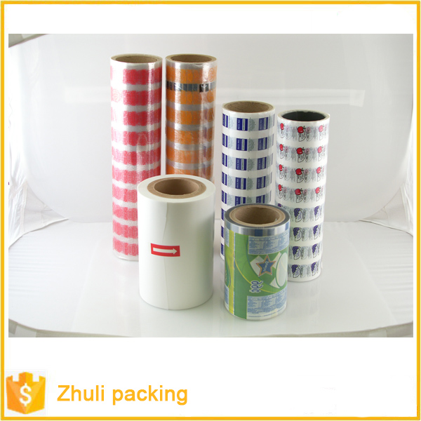 Flow plastic cling bale wrap film for food